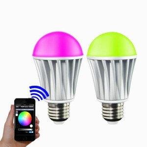 Bluetooth led lamp RGB-W