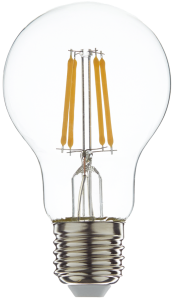 Led filament E27 bulb warm wit 7W dimbaar (A60)