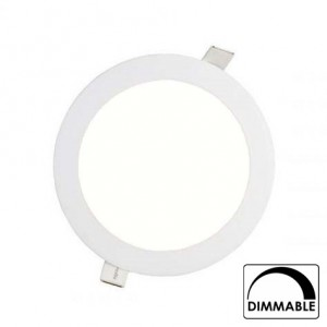 Led downlight inbouw 225mm 4000K (18W) dimbaar