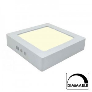 Led downlight opbouw 170mm 3000K (12W) dimbaar