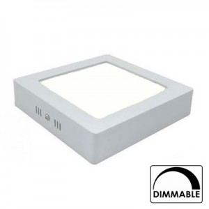 Led downlight opbouw 170mm 4000K (12W) dimbaar