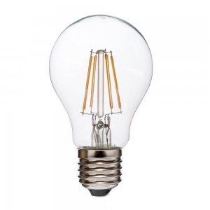 Led filament E27 bulb warm wit/2700K 4W dimbaar (A60) - SALE