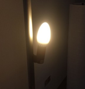 Led kaarslamp E14 warm wit
