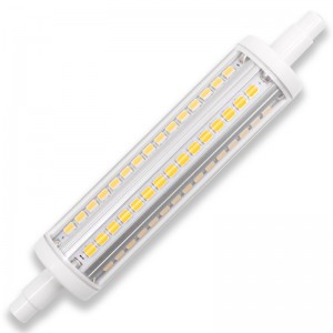 R7S led 118mm, dimbaar, 2700K/warm wit, 10W=80W-100W
