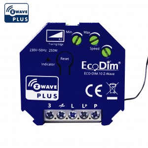 Z-Wave led dimmer module 250W